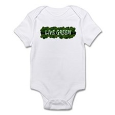 Live Green Bushes Infant Bodysuit