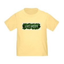 Live Green Bushes T