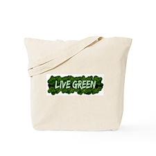 Live Green Bushes Tote Bag