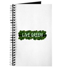Live Green Bushes Journal