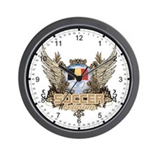 Soccer Belgium Wall Clock