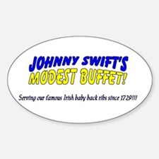 Johnny Swift's Oval Decal