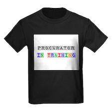 Procurator In Training Kids Dark T-Shirt