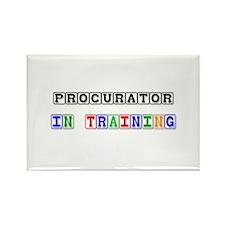 Procurator In Training Rectangle Magnet