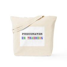 Procurator In Training Tote Bag