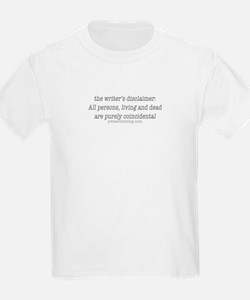 Writer's Disclaimer T-Shirt