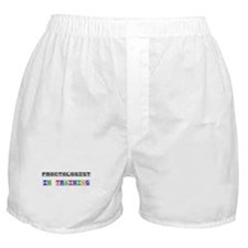 Proctologist In Training Boxer Shorts