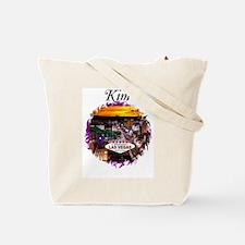 Kim's Personalized Las Vegas Tote Bag