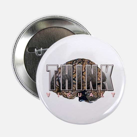 "THINK Visualy 2.25"" Button (10 pack)"