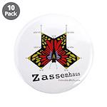 """Zassenhaus - 3.5"""" Button (10 pack)"""