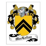 MacLellan Family Crest Small Poster