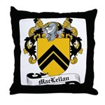 MacLellan Family Crest Throw Pillow