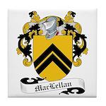 MacLellan Family Crest Tile Coaster