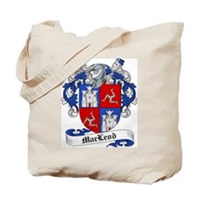 MacLeod Family Crest Tote Bag