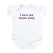 I Love my Uncle Joey Infant Bodysuit