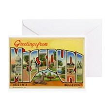 Missouri MO Greeting Card