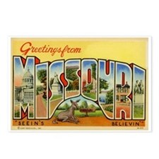 Missouri MO Postcards (Package of 8)
