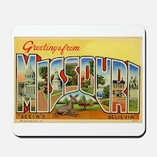 Missouri MO Mousepad
