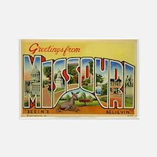 Missouri MO Rectangle Magnet