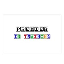Premier In Training Postcards (Package of 8)