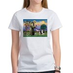 St Francis & 2 Tri Aussies Women's T-Shirt
