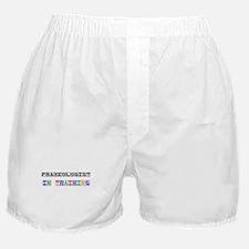 Praxeologist In Training Boxer Shorts
