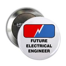 """Future Electrical Engineer 2.25"""" Button (10 pack)"""