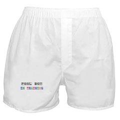 Pool Boy In Training Boxer Shorts