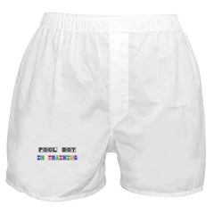 Pool Boy In Training Boxer Shorts