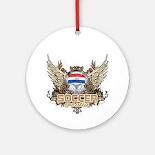 Soccer Croatia Ornament (Round)