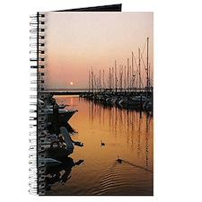 Into the Wilds Marina Sunset Journal