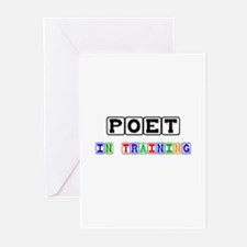 Poet In Training Greeting Cards (Pk of 10)