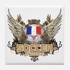 Soccer France Tile Coaster