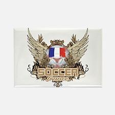 Soccer France Rectangle Magnet
