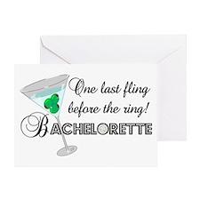 Bachelorette Greeting Card