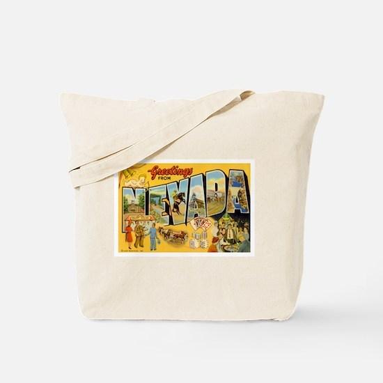 Nevada NV Tote Bag
