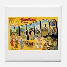 Nevada NV Tile Coaster