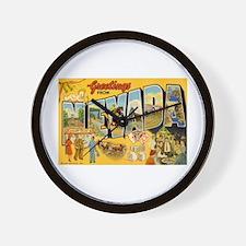 Nevada NV Wall Clock