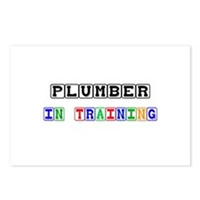 Plumber In Training Postcards (Package of 8)