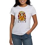 MacNicol Family Crest Women's T-Shirt