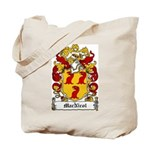 MacNicol Family Crest Tote Bag