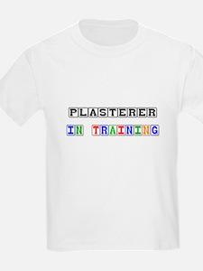 Plasterer In Training T-Shirt