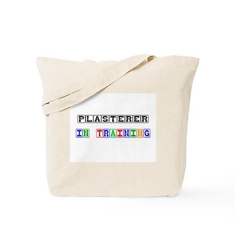 Plasterer In Training Tote Bag