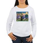St Francis & Aussie #2 Women's Long Sleeve T-Shirt