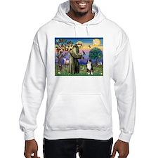 St Francis & Australian Shepherd Hoodie