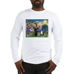 St Francis & Australian Shepherd Long Sleeve T-Shi