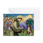 St Francis/ Aus Shep Greeting Cards (Pk of 10)