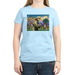 St Francis/ Aus Shep Women's Light T-Shirt