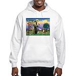 St Francis/Aussie (#5) Hooded Sweatshirt