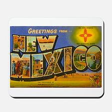 New Mexico NM Mousepad